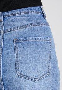 Even&Odd - Áčková sukně - blue denim - 3