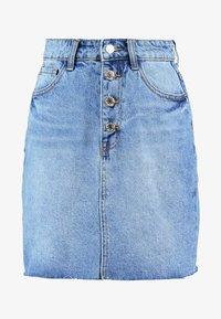 Even&Odd - Áčková sukně - blue denim - 4