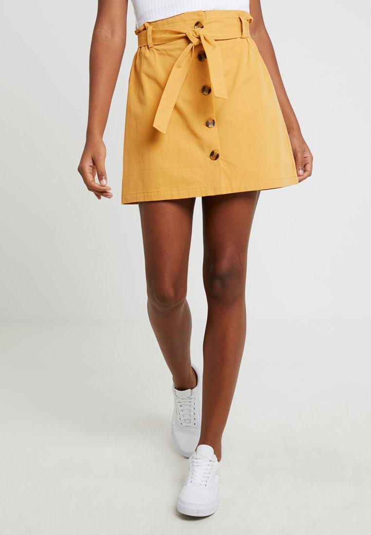 Even&Odd - A-line skirt -  yellow