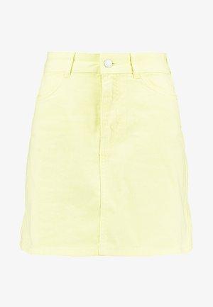 Jeansrok - yellow
