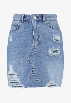 Jupe en jean - light blue denim