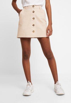 Denimová sukně - beige