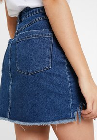 Even&Odd - Denim skirt - blue denim - 5