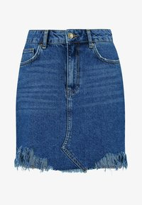 Even&Odd - Denim skirt - blue denim - 4