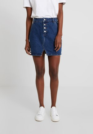Áčková sukně - dark blue denim