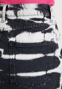 Even&Odd - Jeansrok - white/black - 4