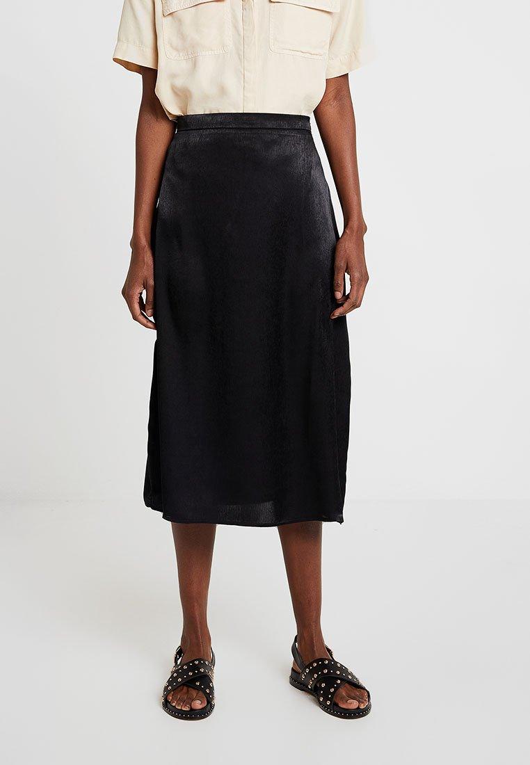 Even&Odd - A-line skirt - black