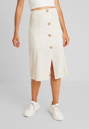 Pencil skirt - offwhite