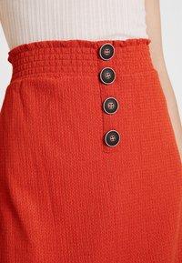 Even&Odd - Pencil skirt - rust - 4