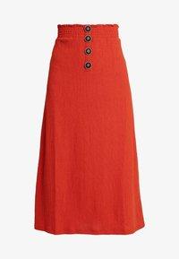 Even&Odd - Pencil skirt - rust - 3