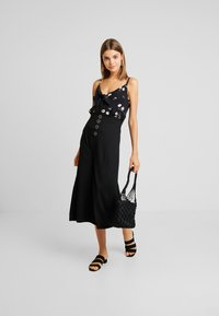 Even&Odd - Falda de tubo - black - 1