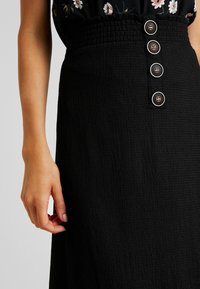 Even&Odd - Falda de tubo - black - 4