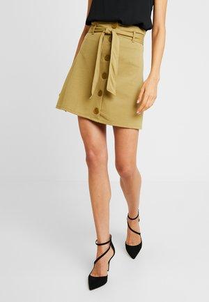 Falda de tubo - khaki