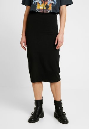 Pencil skirt - black/ grey