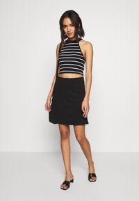 Even&Odd - BASIC - Mini skirt - black - 1