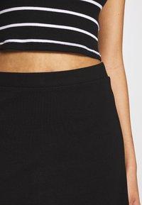 Even&Odd - BASIC - Mini skirt - black - 4