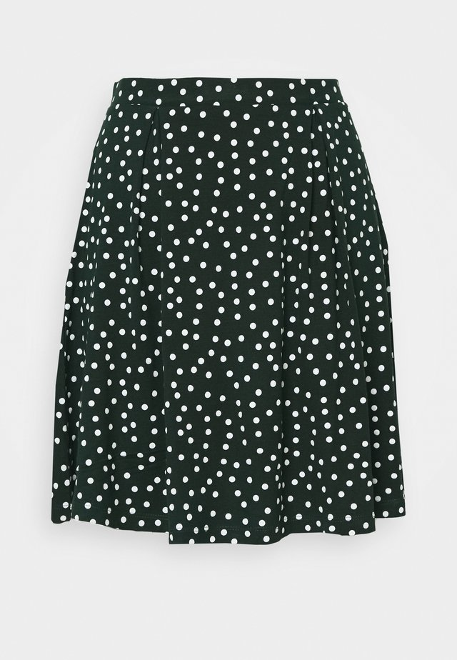 A-snit nederdel/ A-formede nederdele - white/green