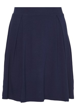 BASIC - MINI A-LINE SKIRT - Áčková sukně - evening blue