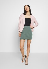 Even&Odd - 2 PACK - Pencil skirt - khaki/black - 0