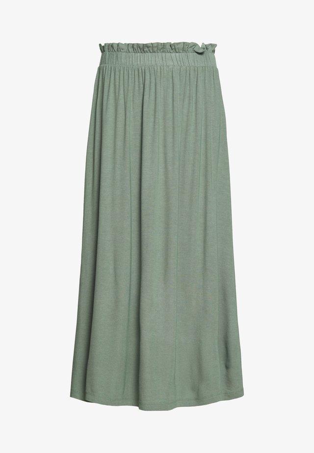 BASIC - Midi paperbag skirt - A-line skirt - laurel wreath