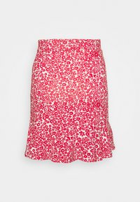 Even&Odd - Mini skirt - white/red - 1