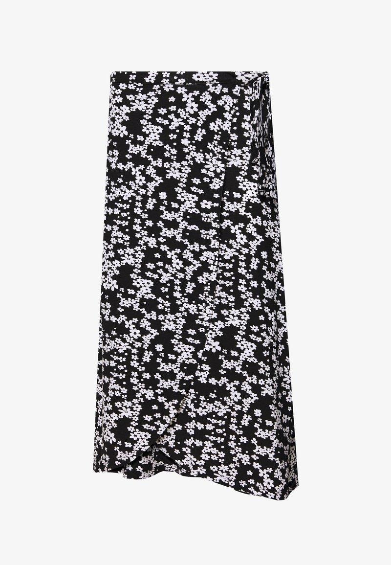 Even&Odd - Pencil skirt - white/black