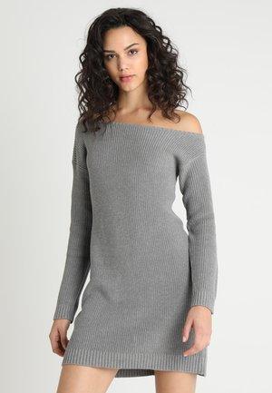 Strikket kjole - grey