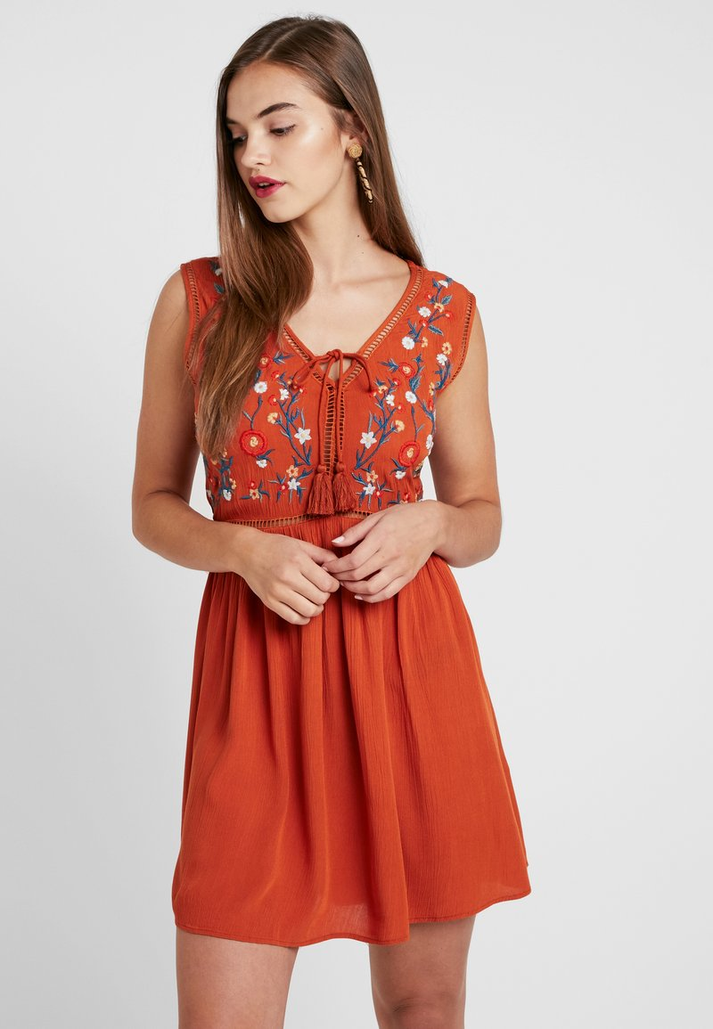 Even&Odd - Day dress - orange
