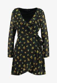 Even&Odd - Denní šaty - black/yellow - 4