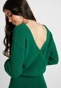 Even&Odd - Abito in maglia - green - 5