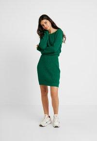 Even&Odd - Abito in maglia - green - 2