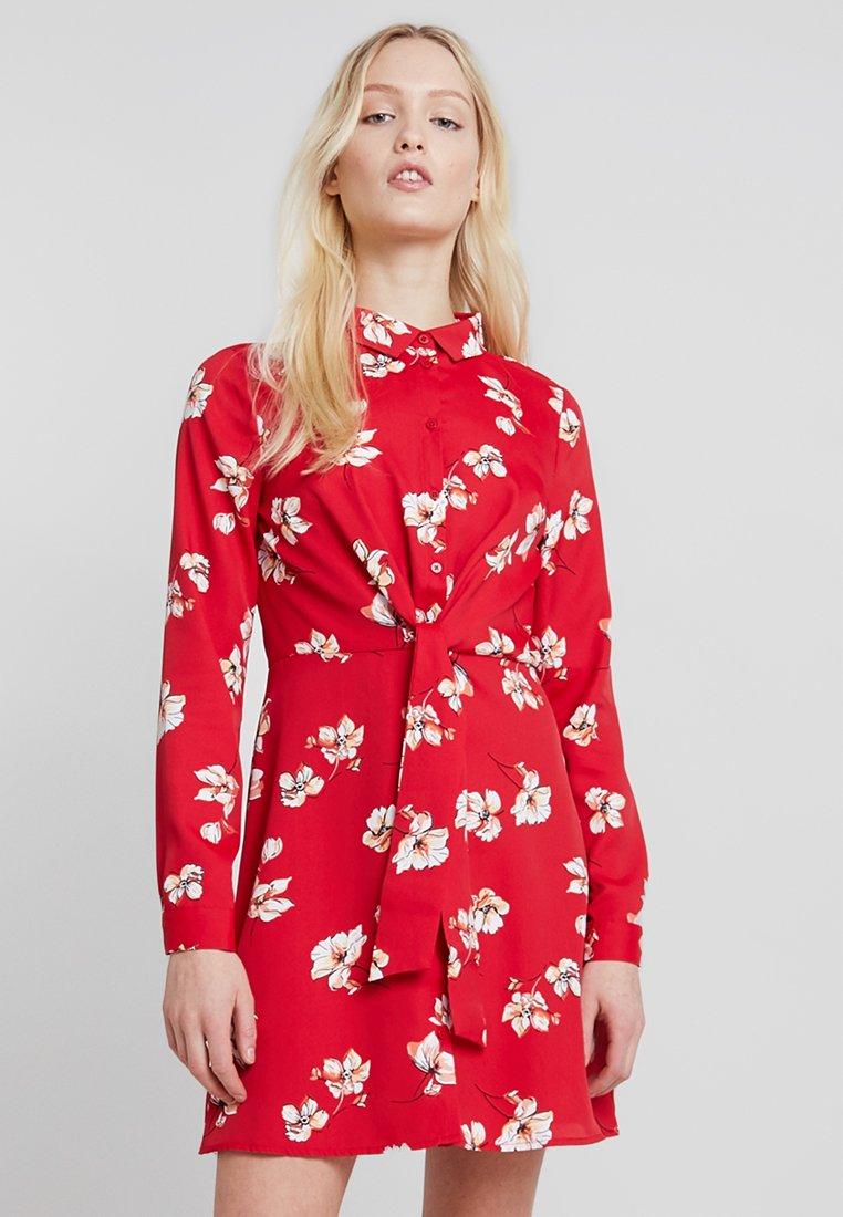 Even&Odd - Shirt dress - red