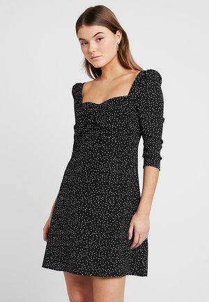 Vestido informal -  black/white