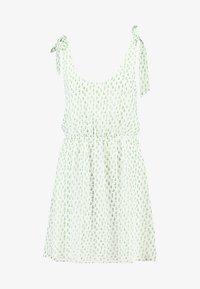 Even&Odd - Denní šaty - white green - 4