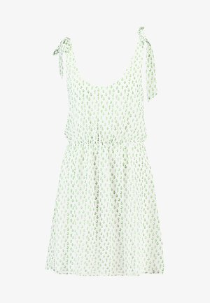 Day dress - white green