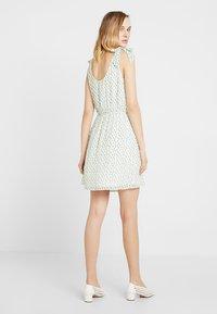 Even&Odd - Denní šaty - white green - 2