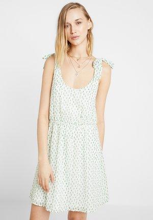 Denní šaty - white green