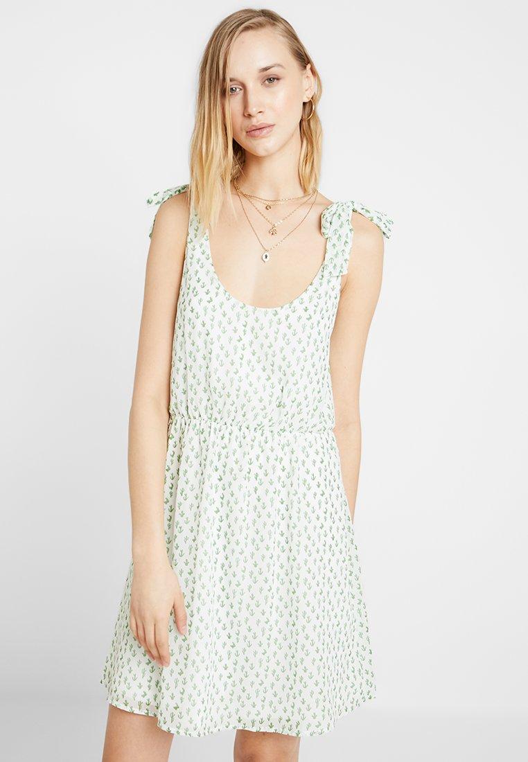Even&Odd - Denní šaty - white green