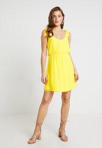 Even&Odd - Vestito estivo - yellow - 2