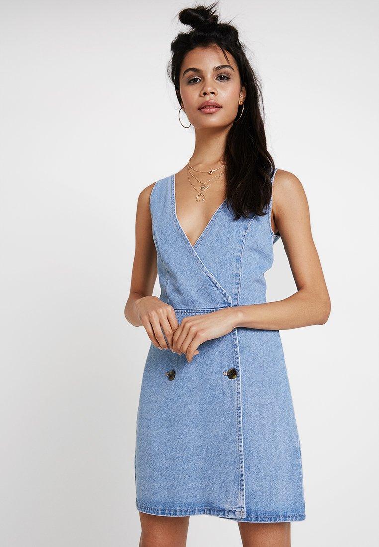 Even&Odd - Denim dress - blue denim