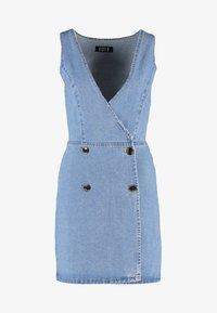 Even&Odd - Denim dress - blue denim - 4