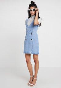 Even&Odd - Denim dress - blue denim - 1
