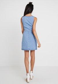 Even&Odd - Denim dress - blue denim - 2