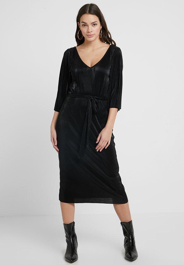 Even&Odd - Vestido largo - black