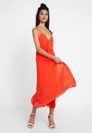 Maxikjole - orange