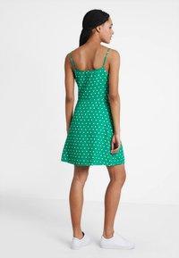Even&Odd - Sukienka letnia - off-white, green - 3