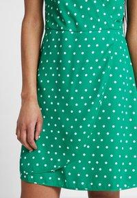 Even&Odd - Sukienka letnia - off-white, green - 5