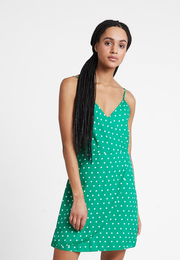 Even&Odd - Sukienka letnia - off-white, green