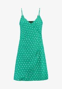Even&Odd - Sukienka letnia - off-white, green - 4