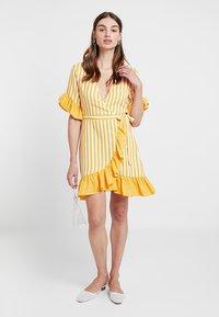 Even&Odd - Hverdagskjoler - yellow/white - 2